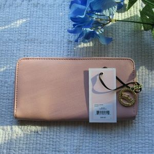 Juicy Couture Bags - Juicy Couture • Pink Crown Wallet